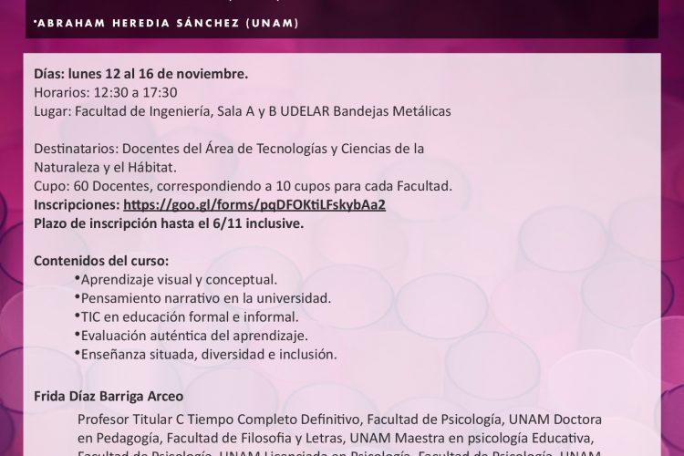 Curso de Formación Docente  Dispositivospedagógicos en la enseñanza universitaria
