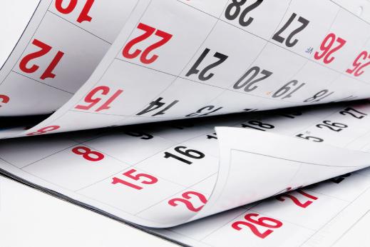 Calendario de curso 2019 por Facultad