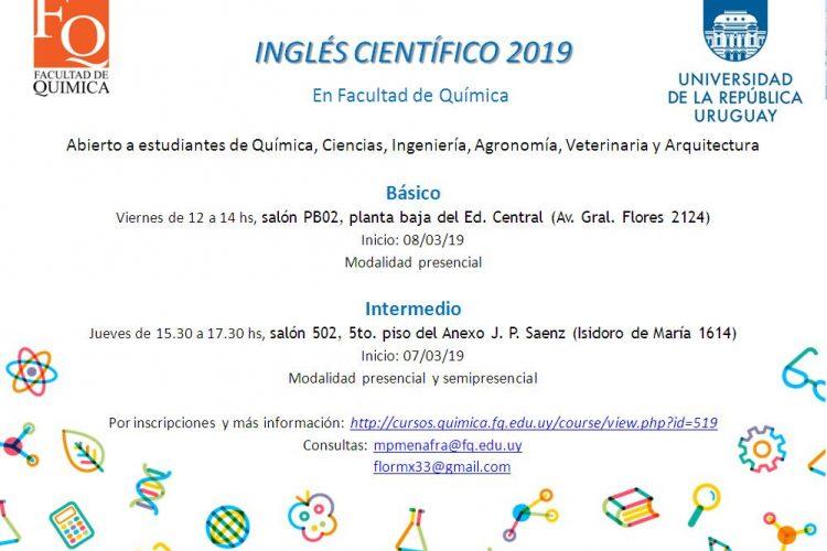 Curso de Inglés Científico para Estudiantes
